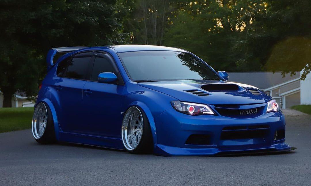 Subaru STI Hatchback On Air Suspension