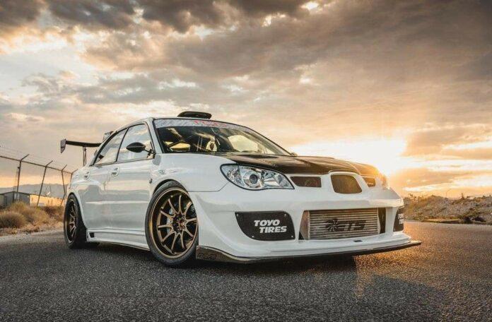 Modified Subaru STI