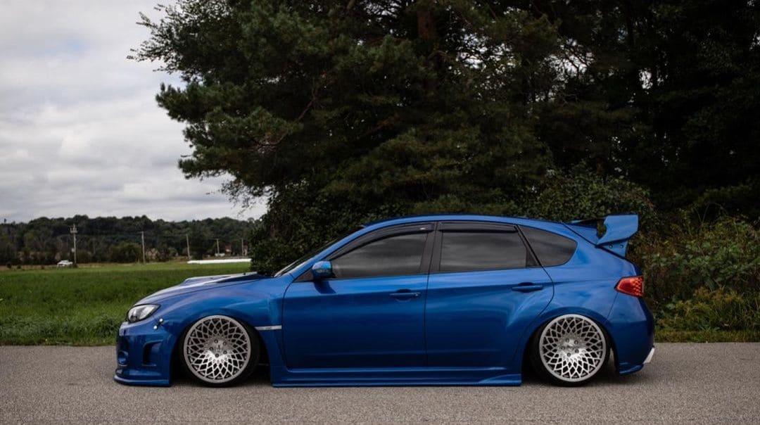 Subaru STI Hatchback Wing