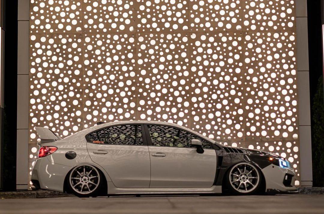 Subaru WRX On Air suspension