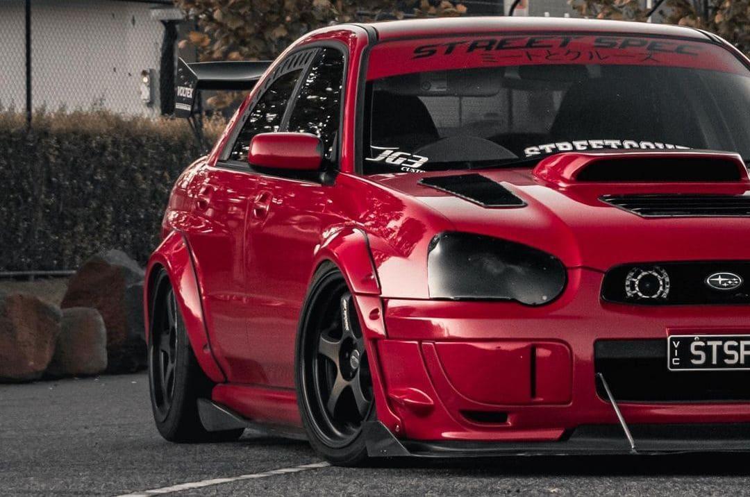 Modified Subaru WRX