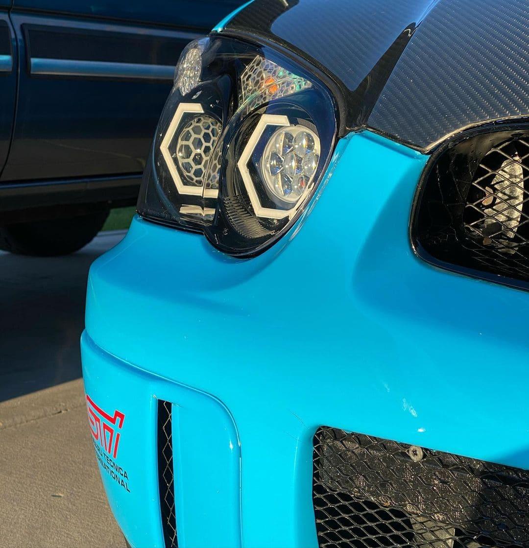 Subaru STI Headlights