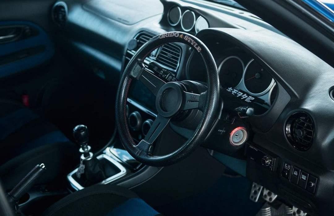 Subaru STI Interior