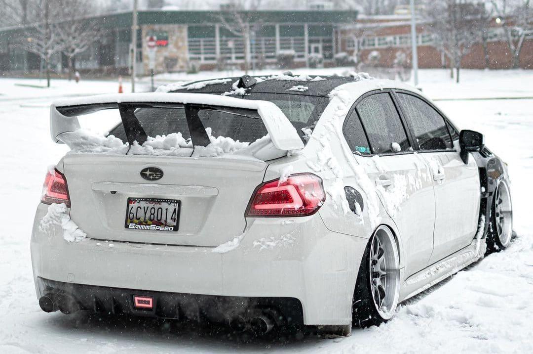 Subaru WRX Rear End