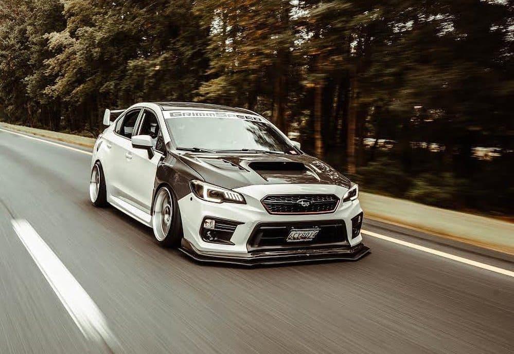 Modded Subaru WRX
