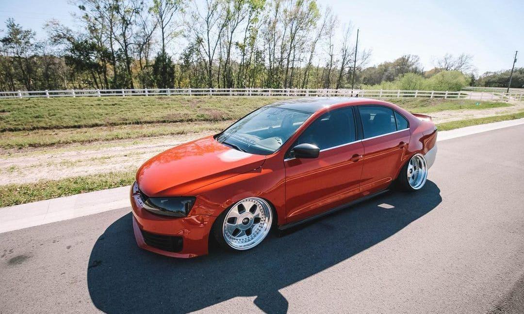 Volkswagen Jetta With Rims
