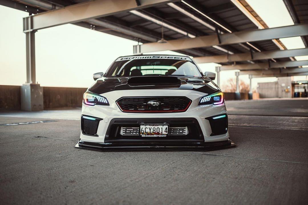 Subaru WRX Front lip