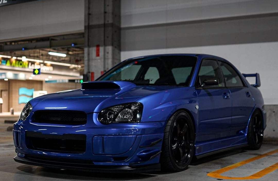 Subaru STI Front lip