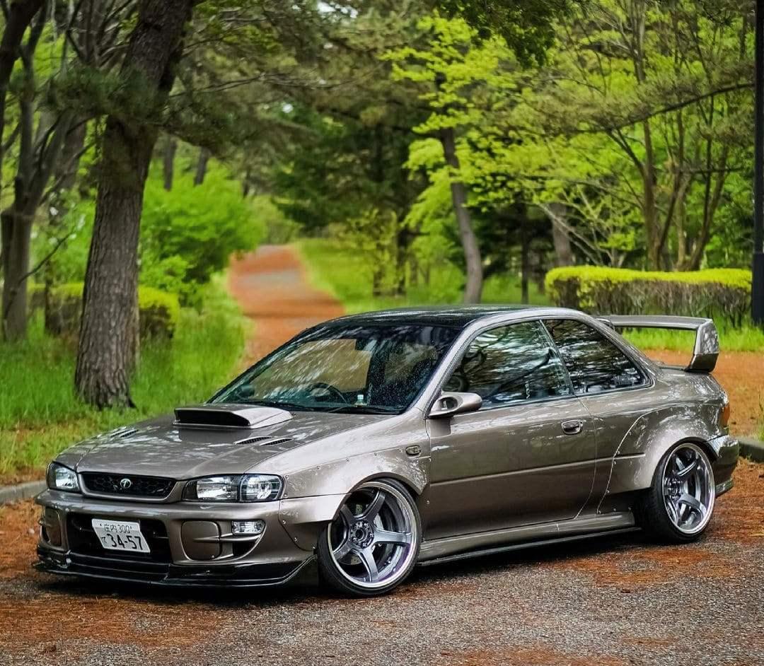 Subaru STI Fog Lights