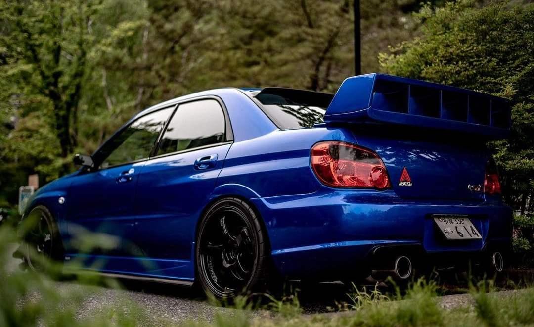Modded Subaru STI