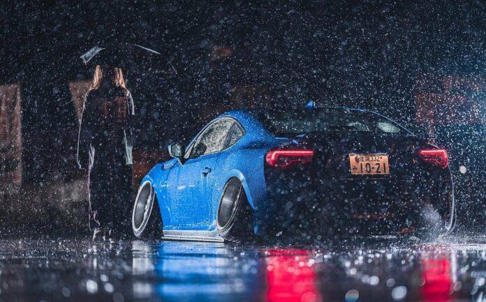Subaru BRZ Rear End