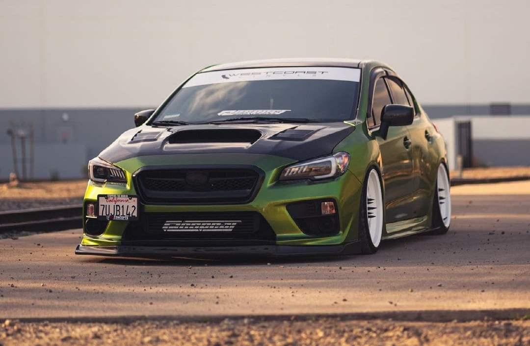 Subaru STI Hood Vents