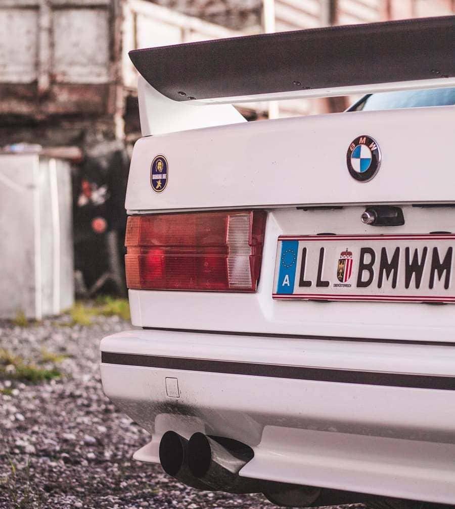 BMW E30 M3 Rear End