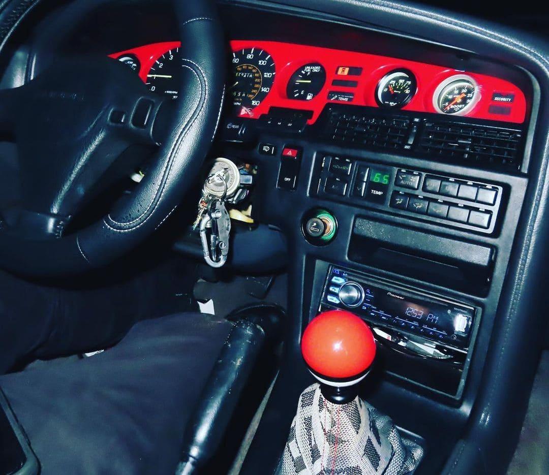 Toyota Supra MK3 Interior