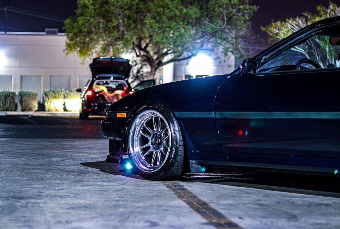 Toyota Supra MK3 With Rims