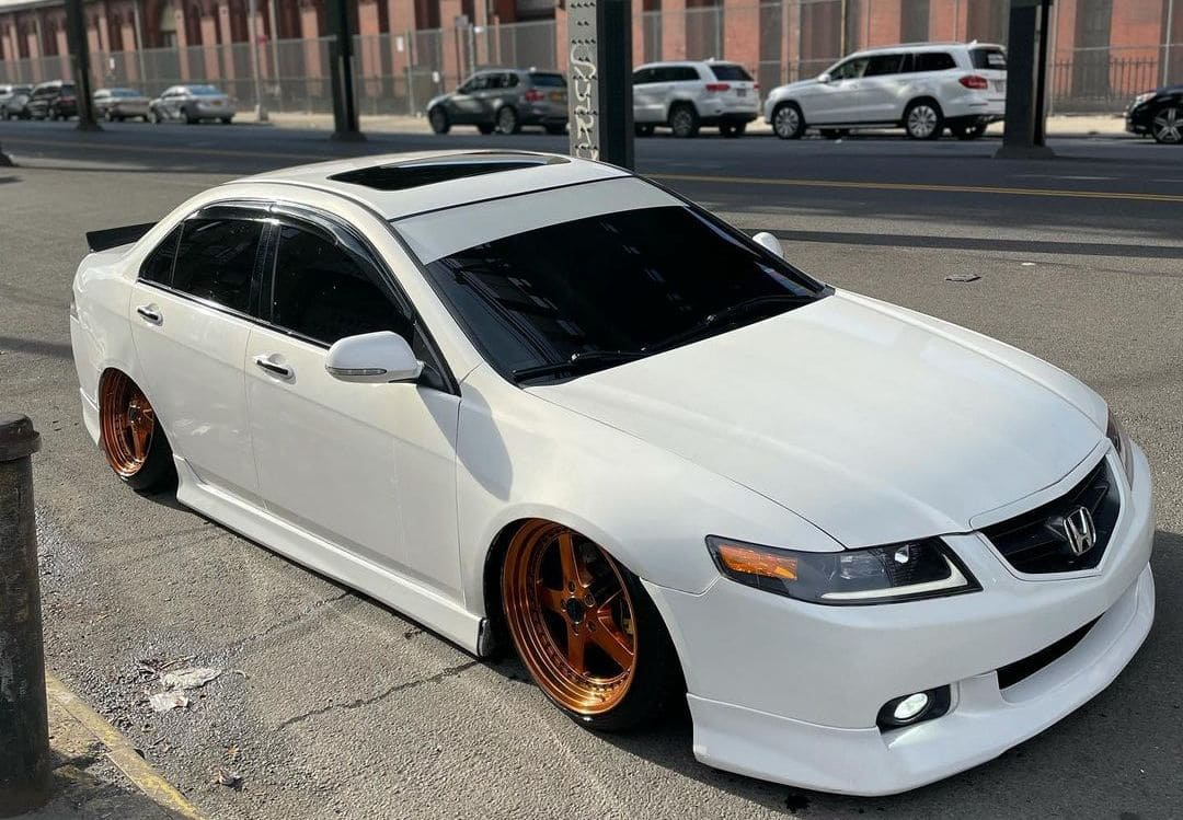 lowered Acura TSX CL9
