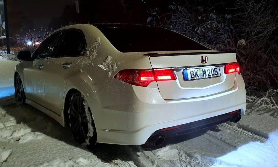 Honda Accord  Rear End