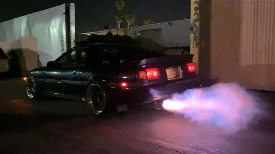 Toyota Supra MK3 Rear End