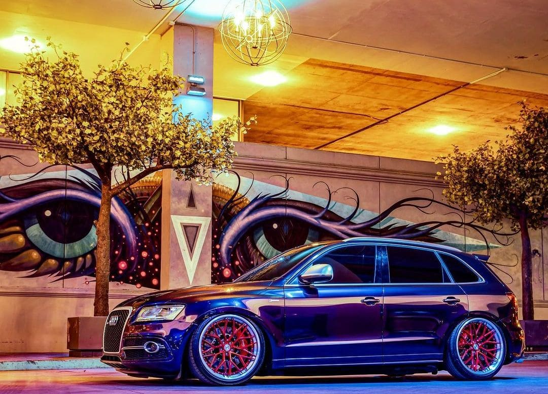 Audi SQ5 With Rims