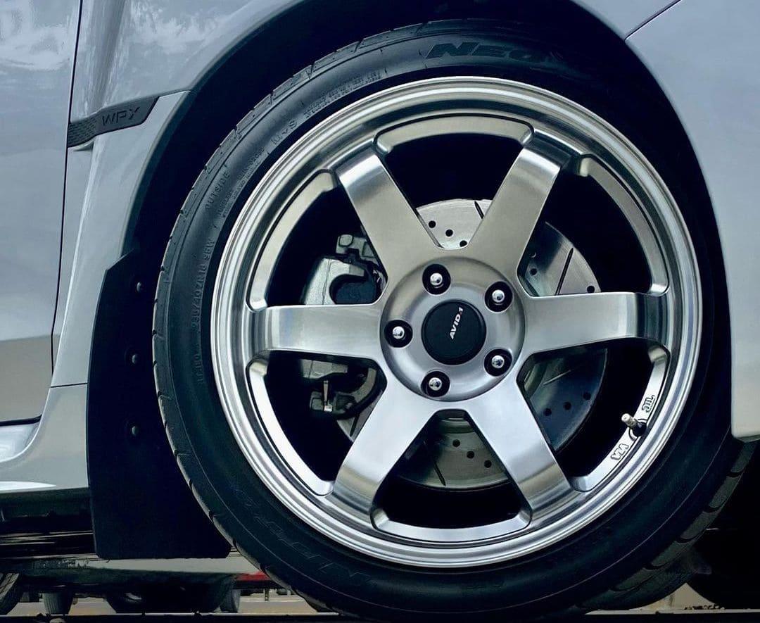 Subaru WRX With Rims