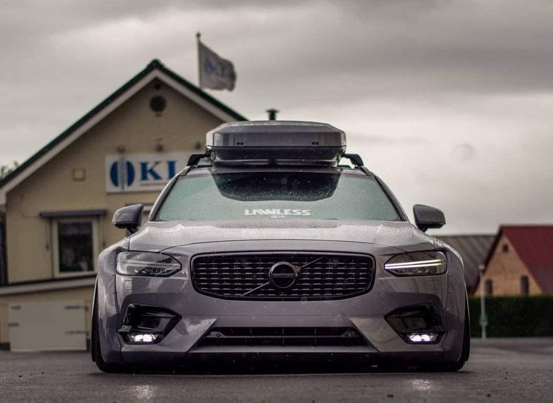 Volvo V90 air suspension