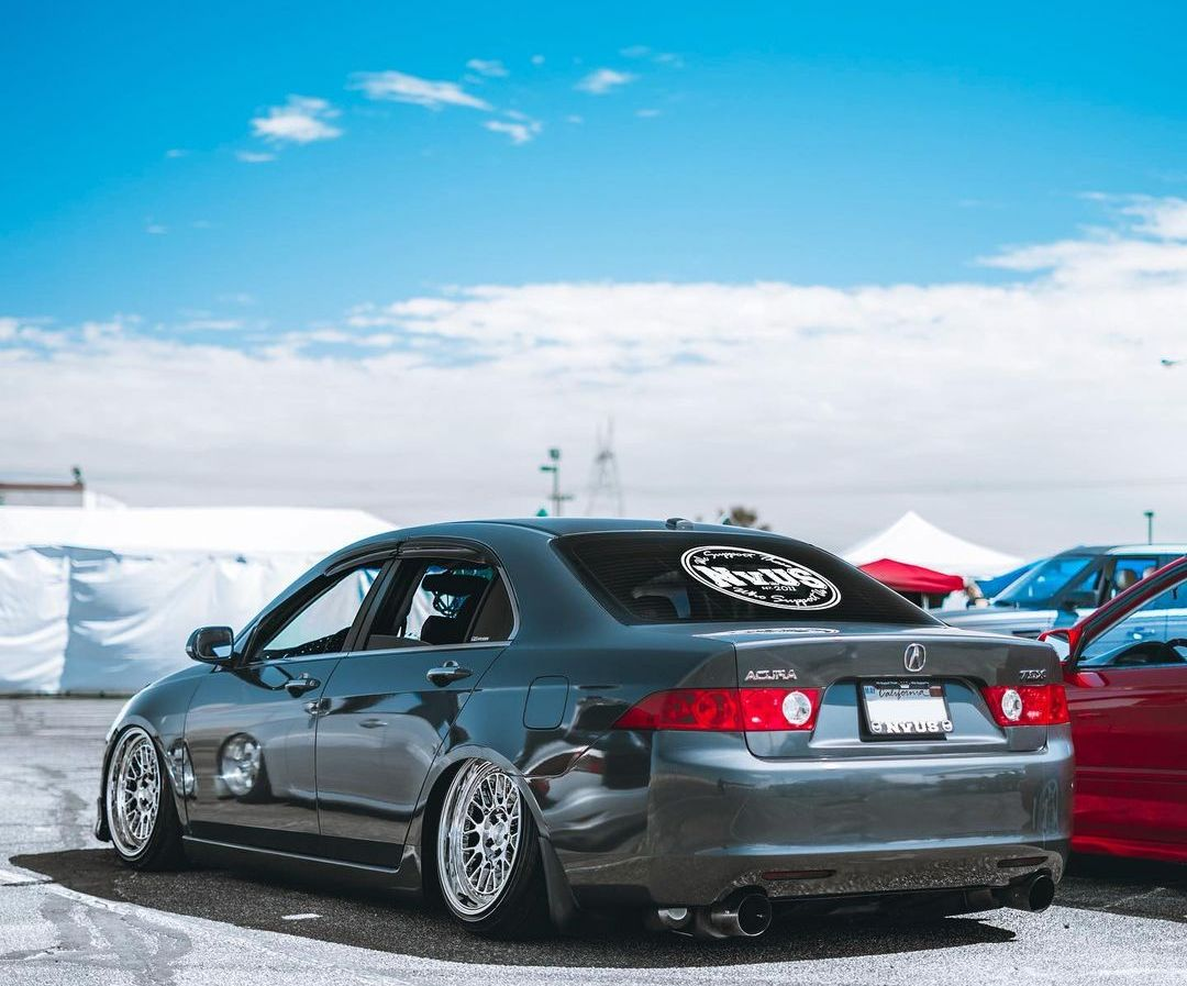 Acura TSX On Air suspension