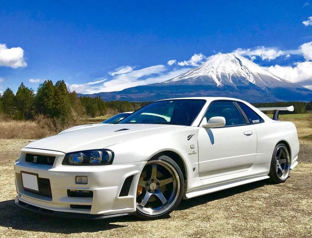 Nissan Skyline BNR34GT-R Vspec