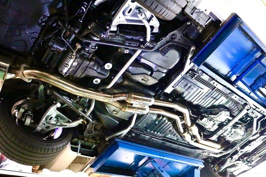 Nissan Skyline Undercarriage