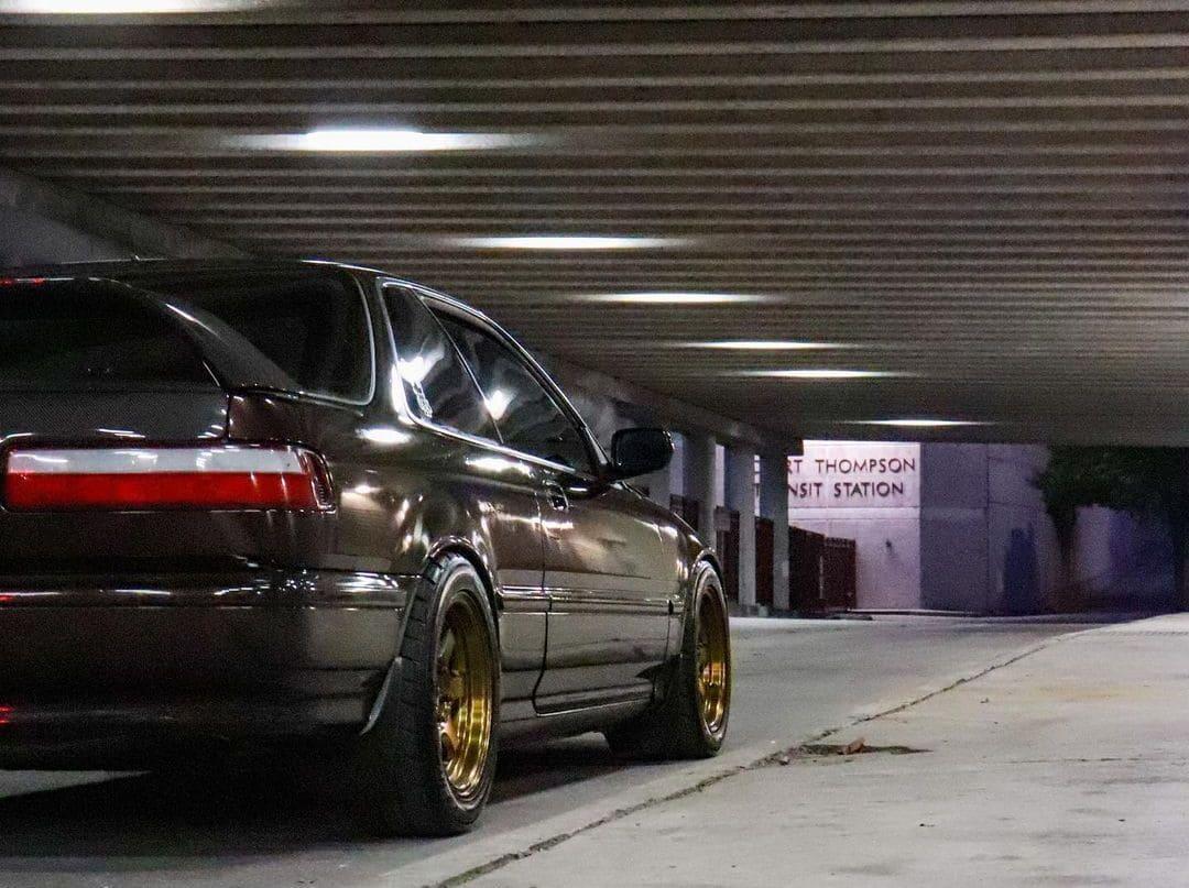 Lowered Acura Integra