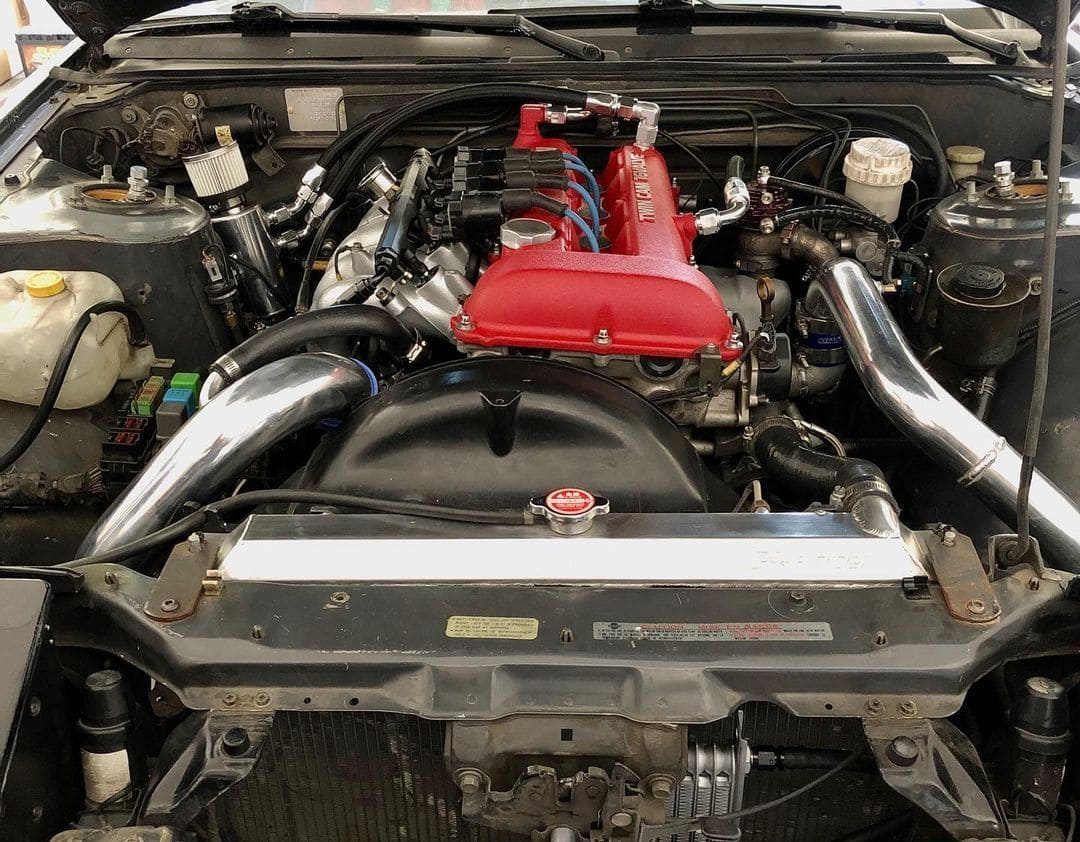Nissan 240sx Engine bay