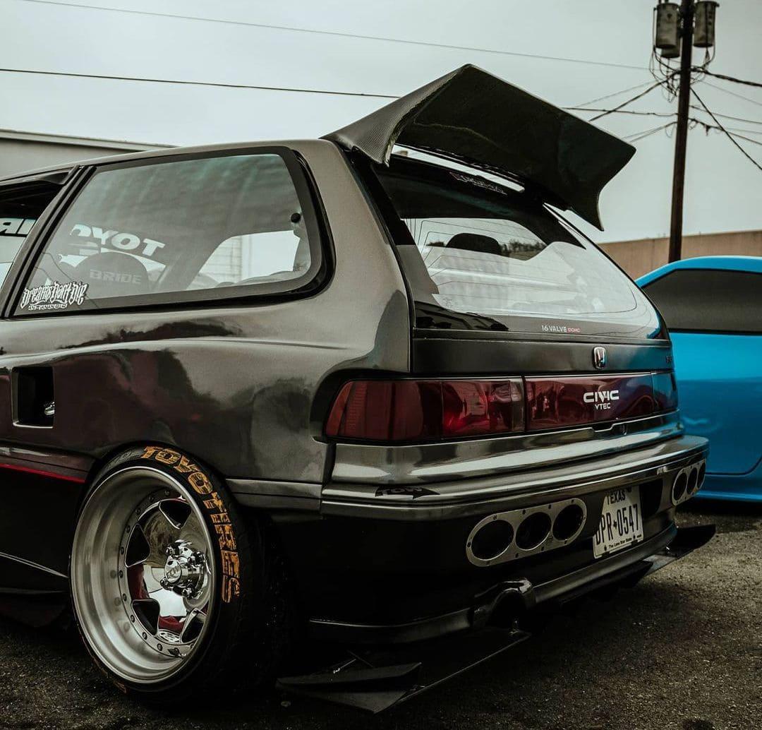 89 Honda Civic Hatch Wing