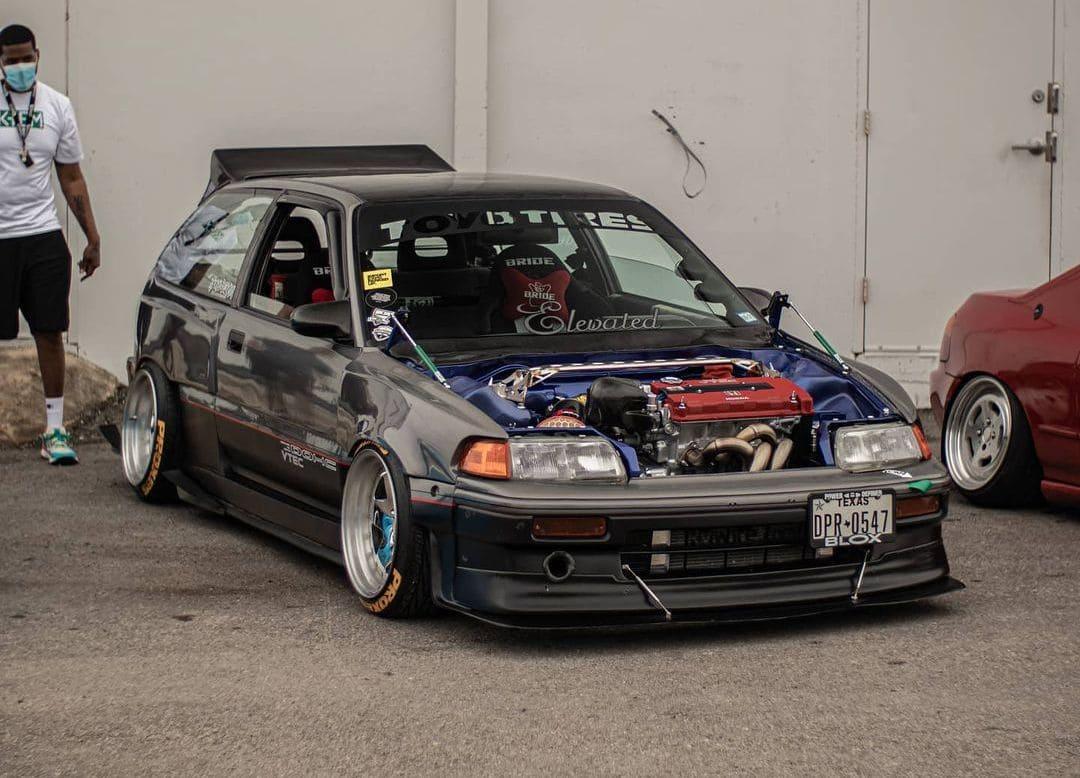 89 Honda Civic Hatch Front lip