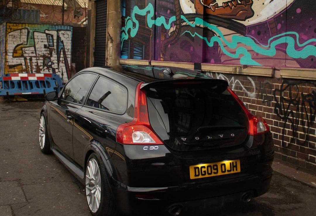 Volvo C30 Rear End
