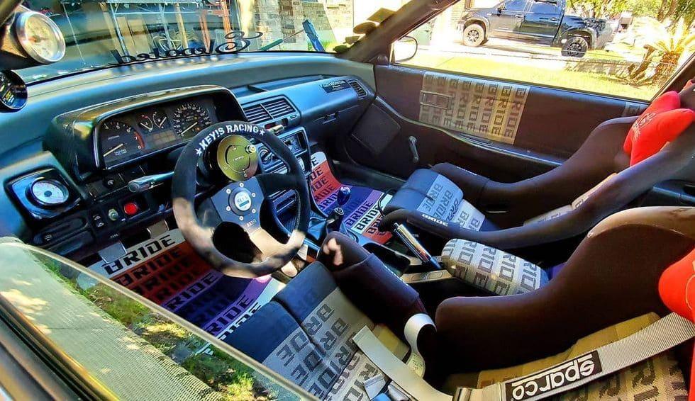 89 Honda Civic Hatch Interior