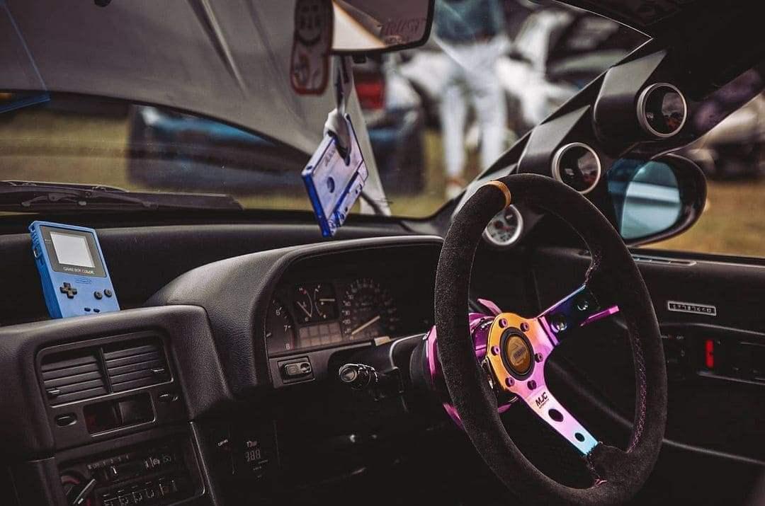 Honda CRX Interior