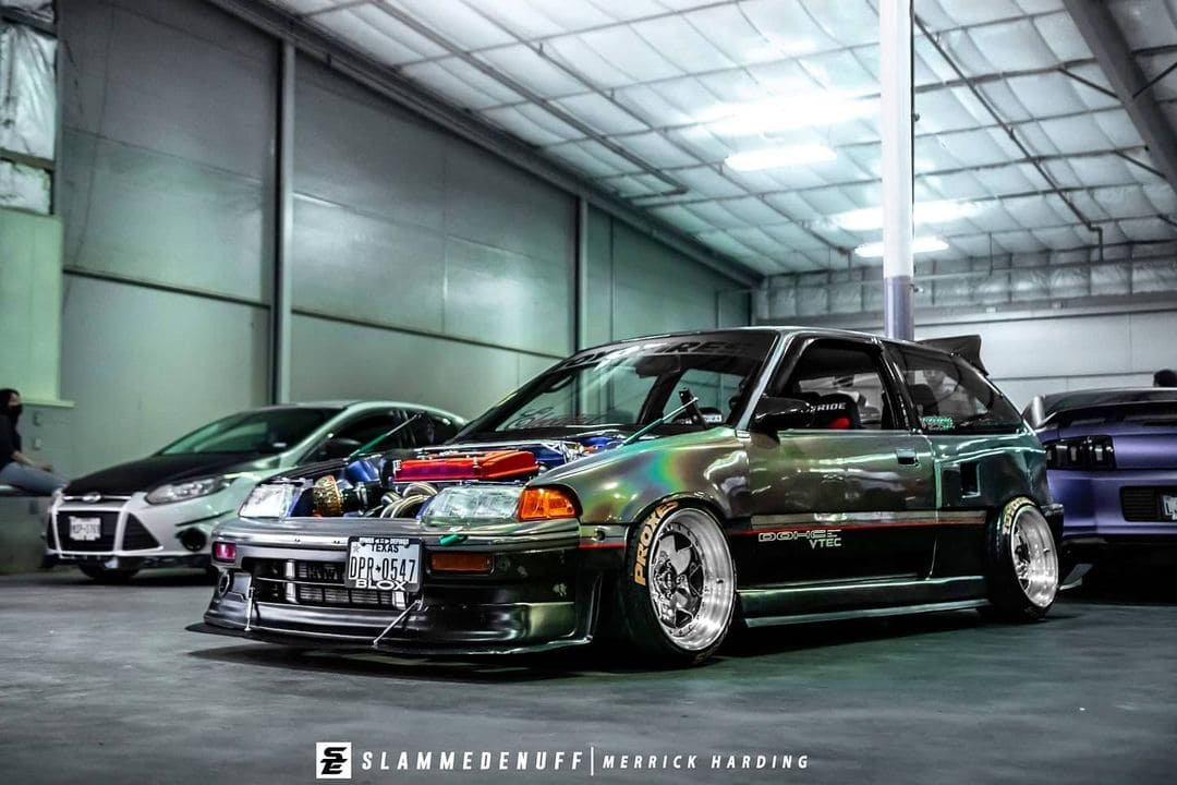 Modified 89 Honda Civic Hatch
