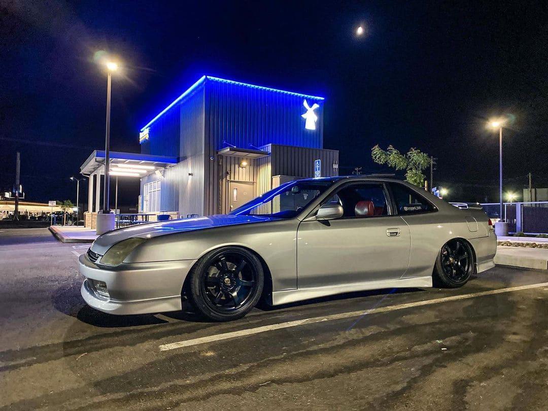 Honda Prelude With Rims
