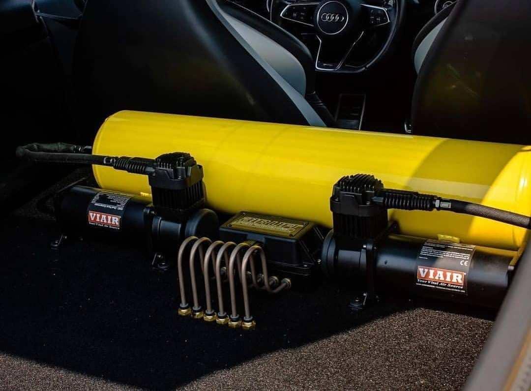 Audi TTS Air suspension