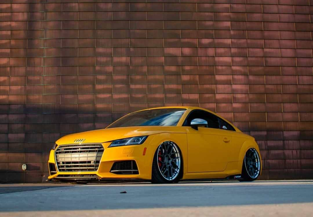 Audi TTS With Rims