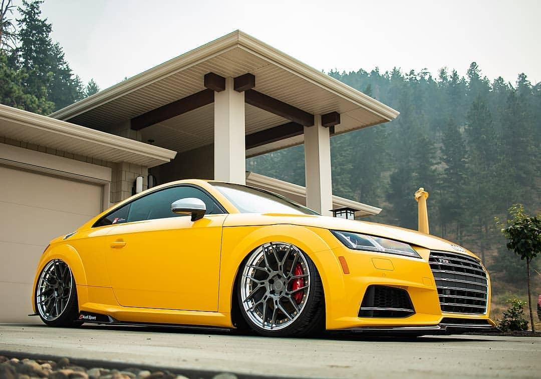 Audi TTS On Air suspension
