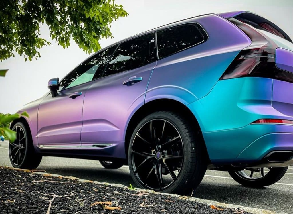 Wrapped Volvo XC60