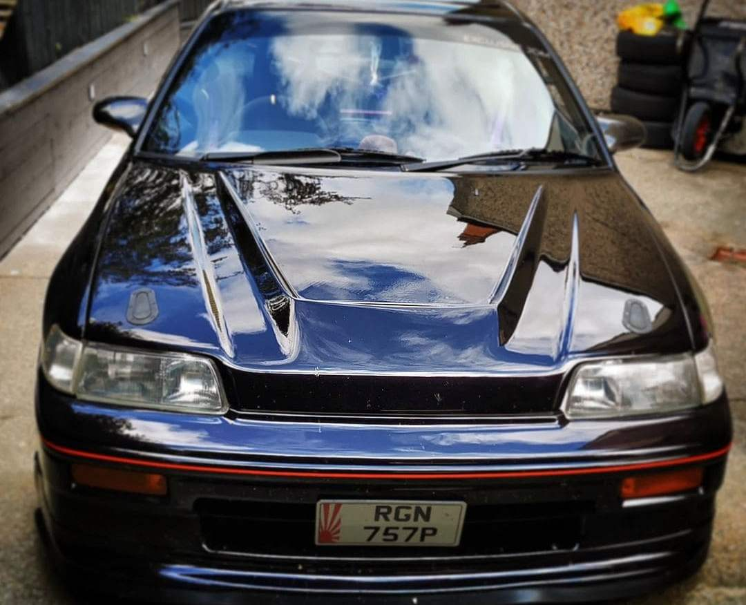 Honda CRX Headlights