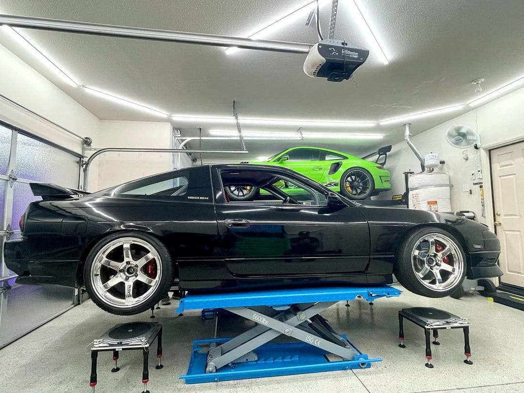 Nissan 240sx With Rims