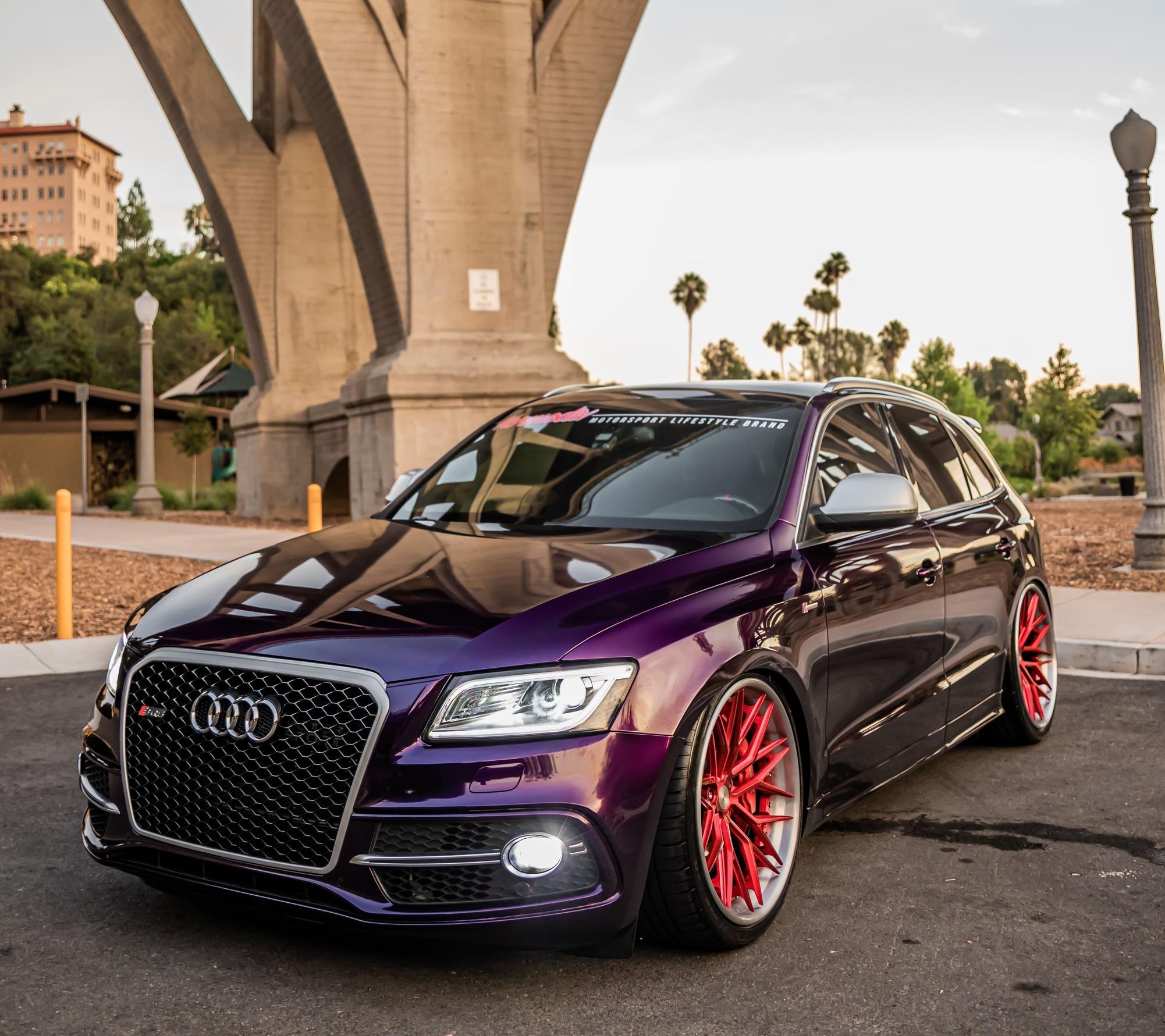Modded Audi SQ5