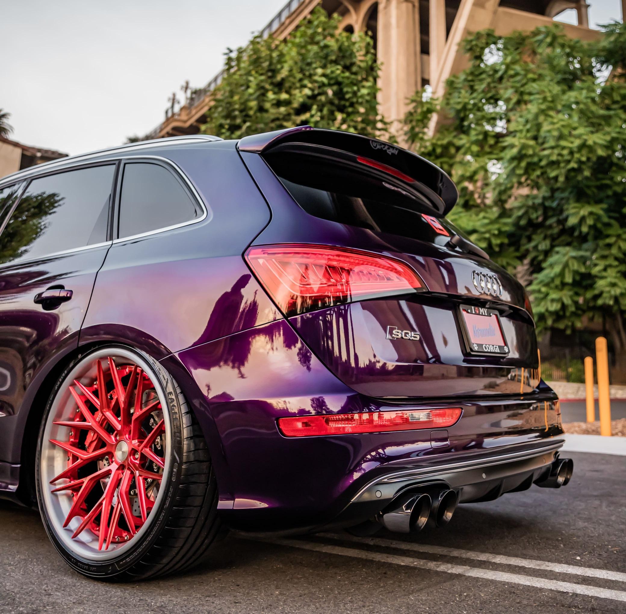 Audi SQ5 Diffuser
