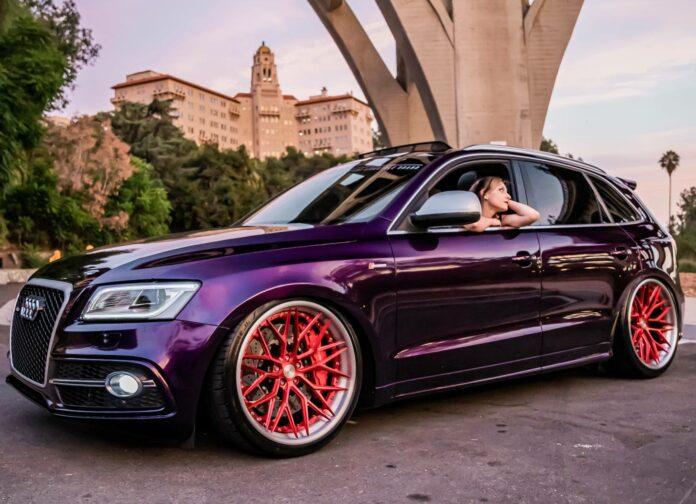 Veronika Hair's 2014 Audi SQ5