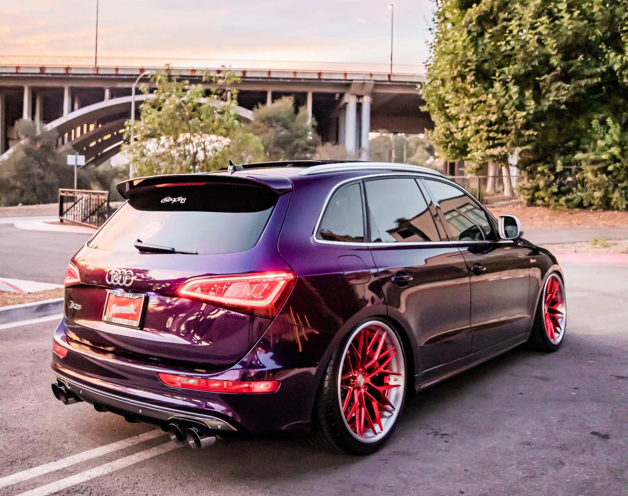 Audi SQ5 Rear End