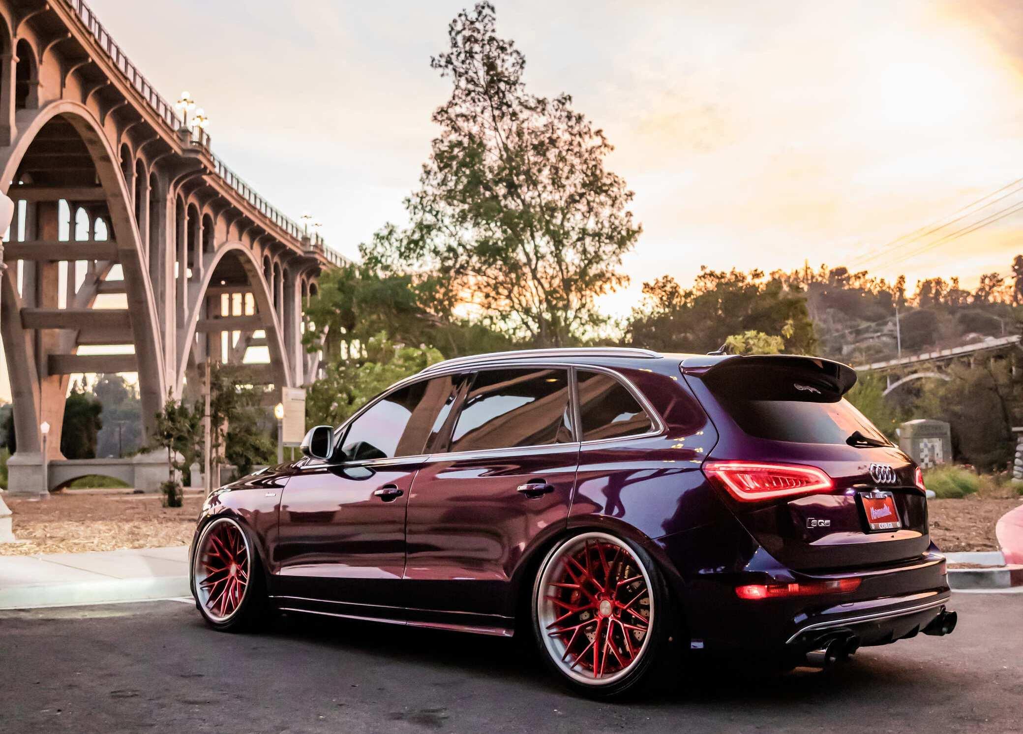 Bagged Audi SQ5