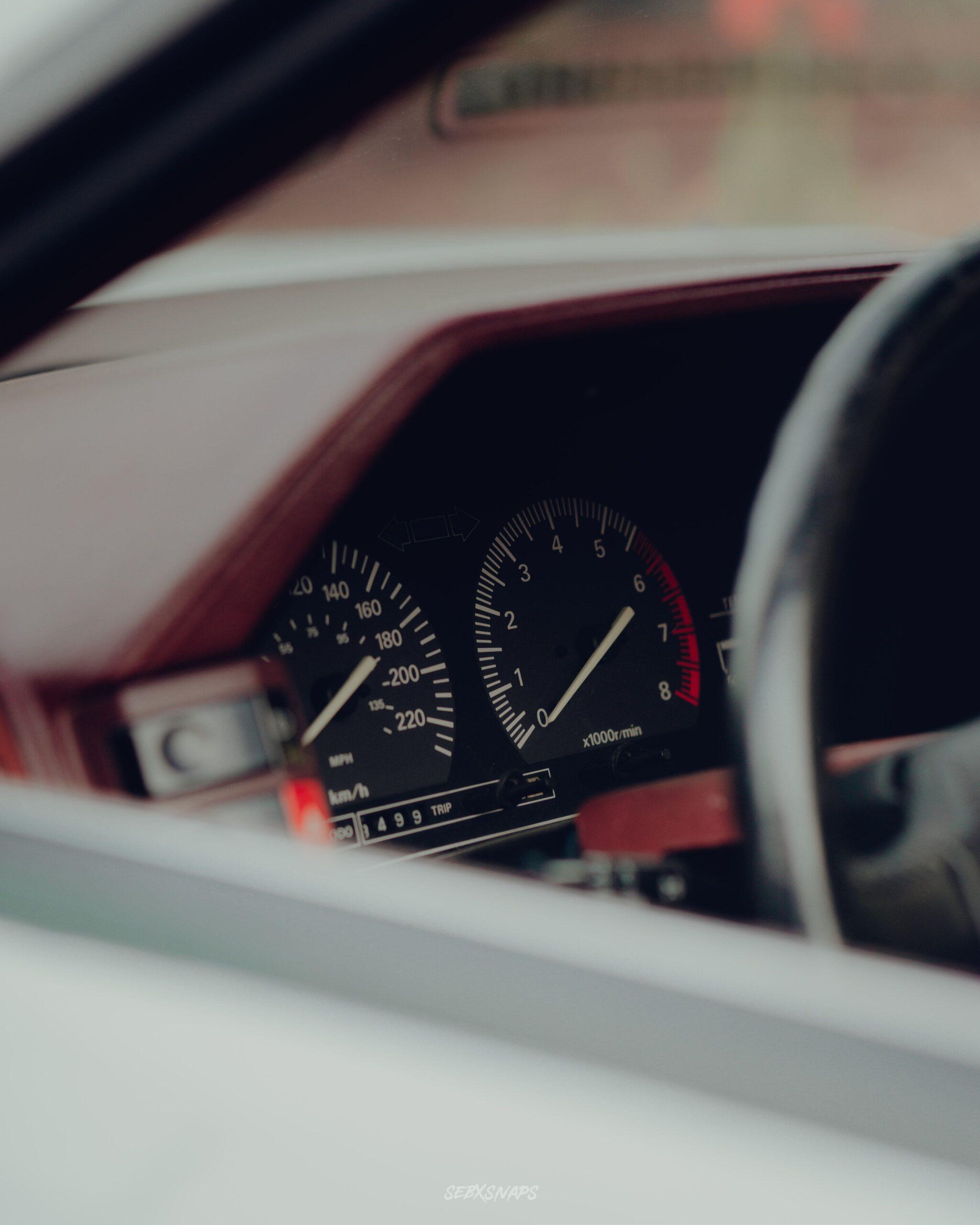 Nissan 300ZX Dash