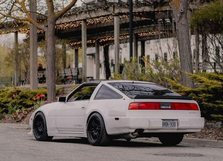 Nissan 300ZX With Rims